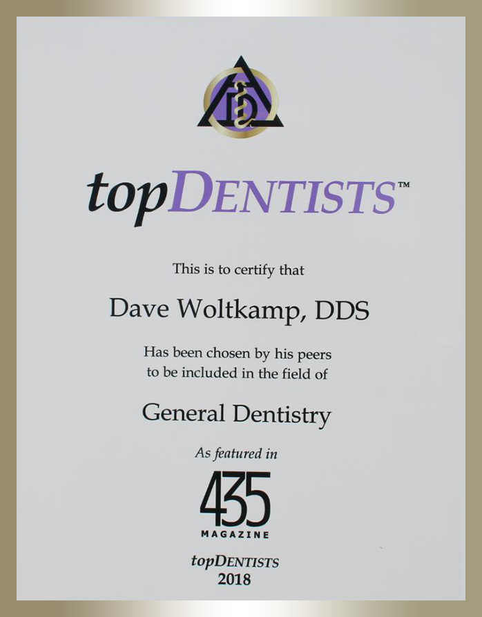 Kansas Dentist Awards